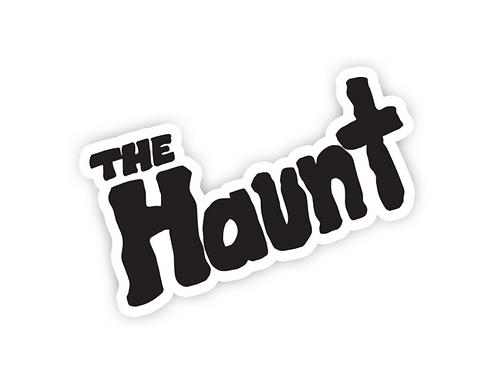 """The Haunt"" Cut-Out Sticker"