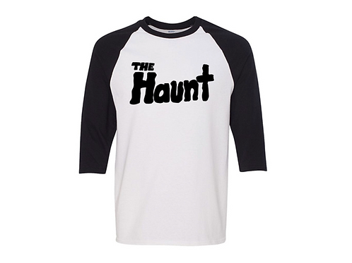 """The Haunt"" Baseball T-Shirt."