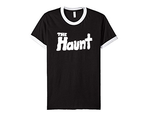 """The Haunt"" Black Ringer T-Shirt"