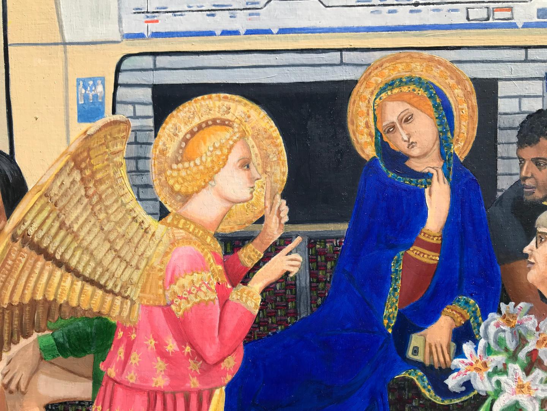 Northern Line Annunciation detail 8