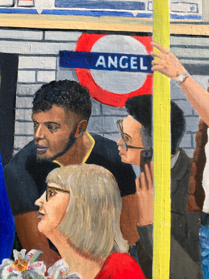 Northern Line Annunciation detail 2