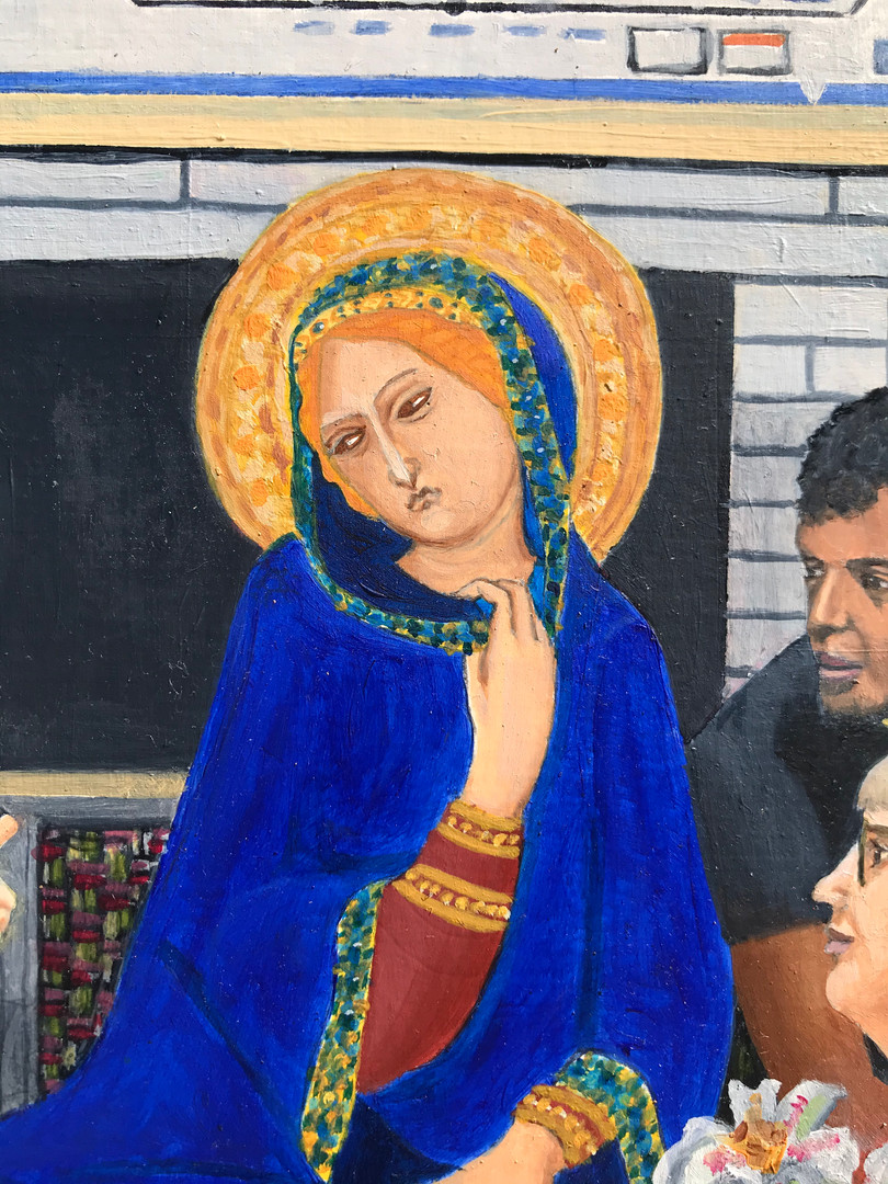 Northern Line Annunciation detail 4