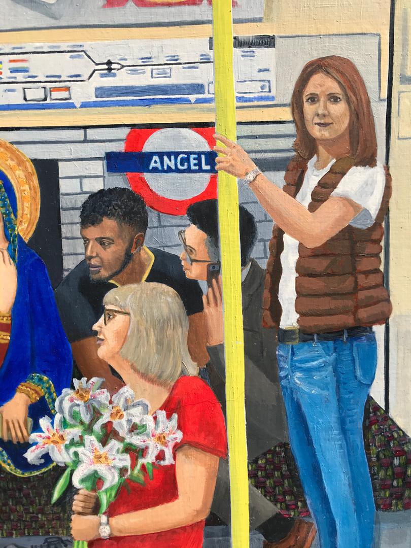 Northern Line Annunciation detail 6