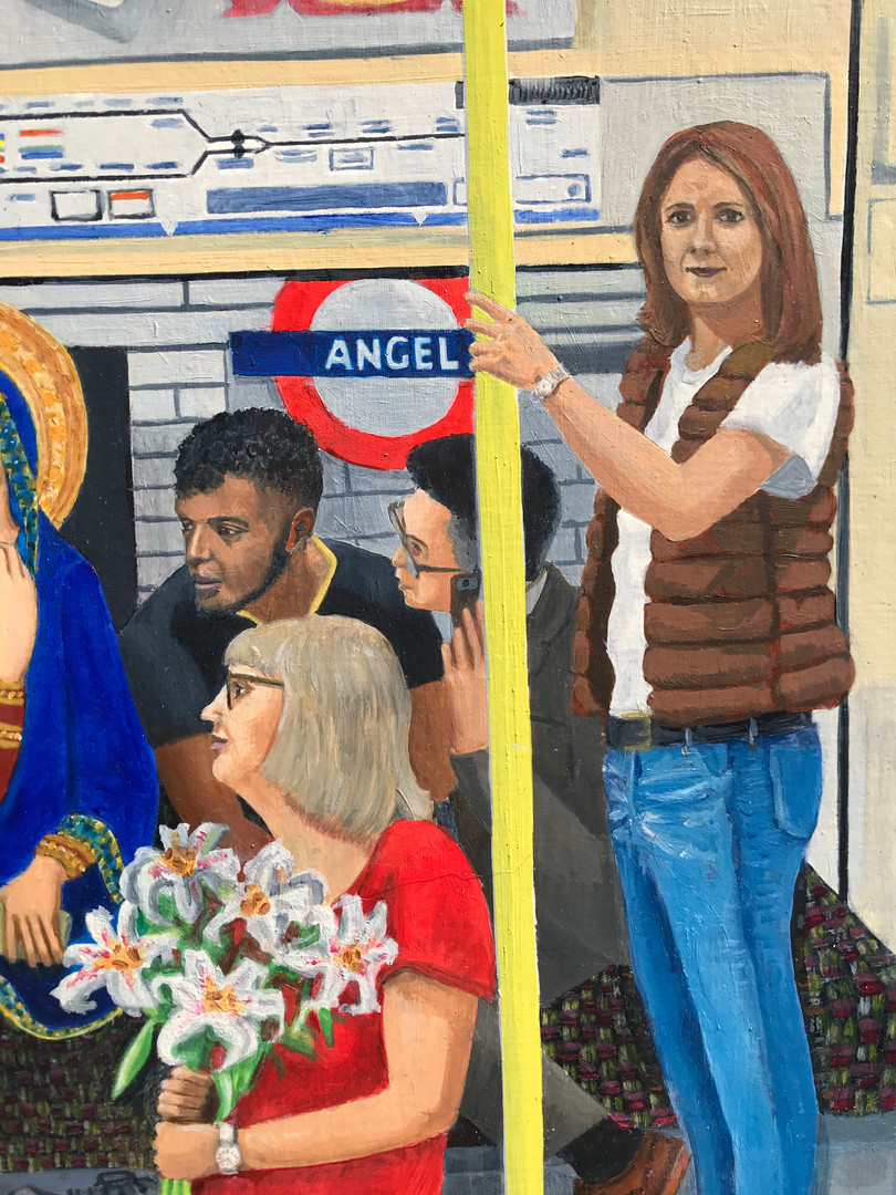 Northern Line Annunciation detail 6
