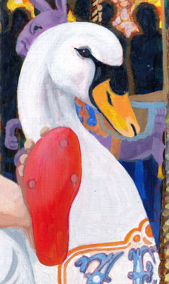 Leda and the Swan detail 3
