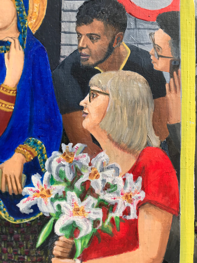Northern Line Annunciation detail 3