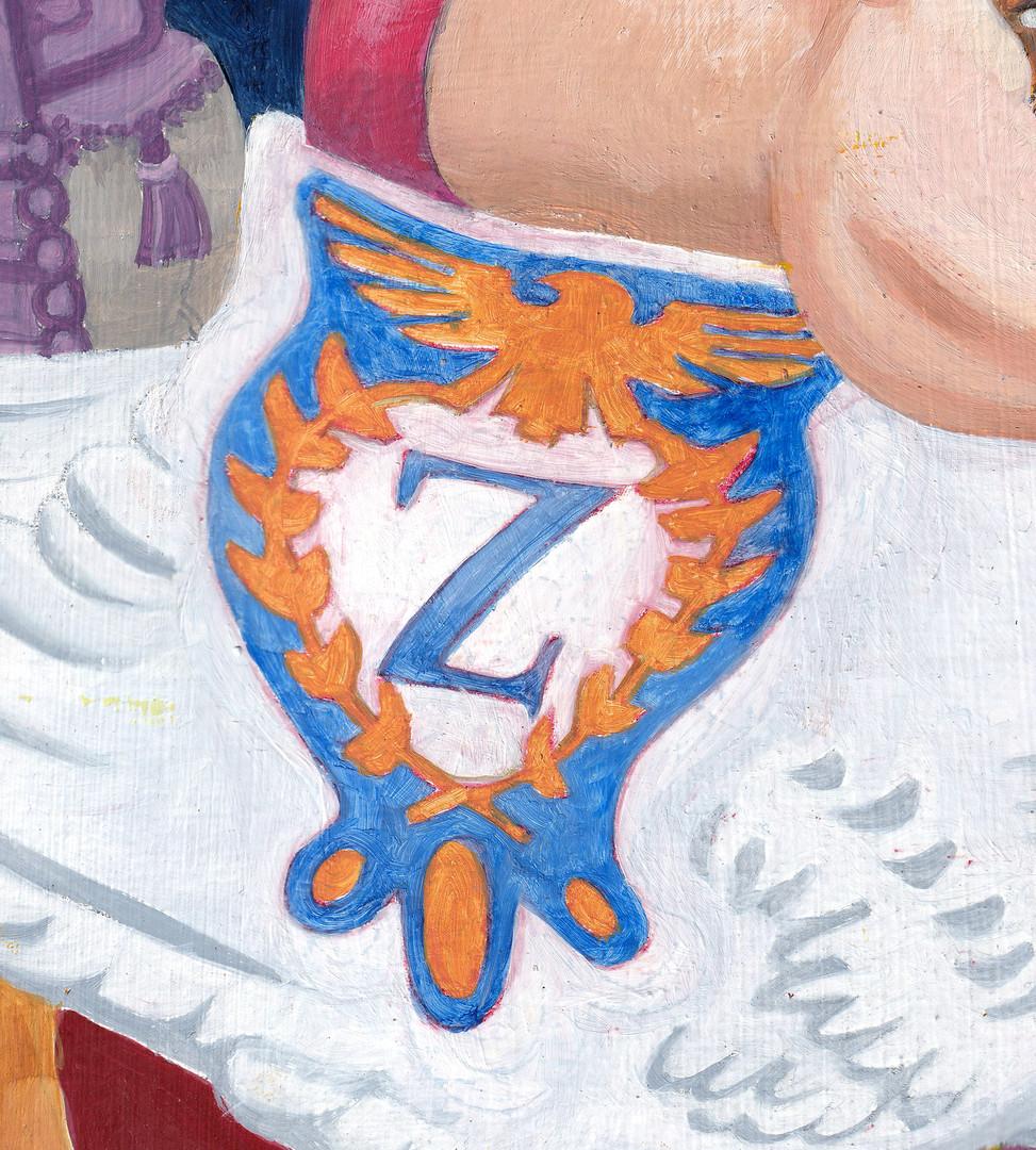 Leda and the Swan detail 4