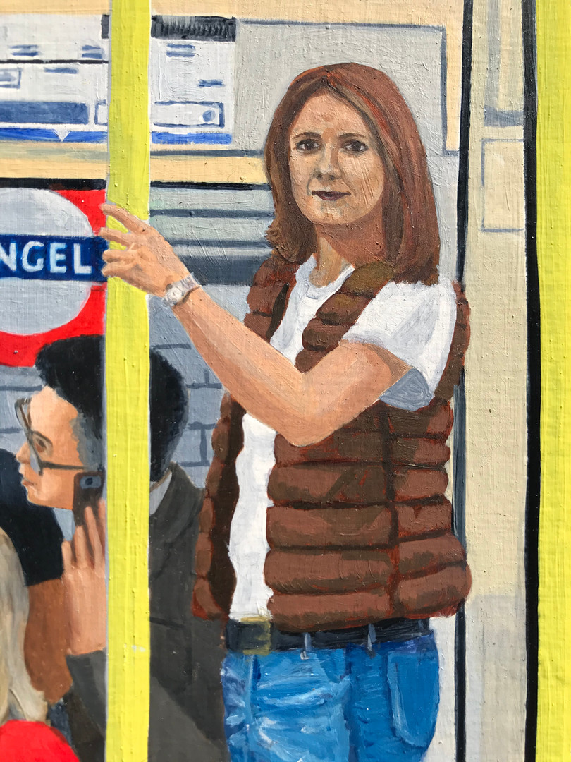 Northern Line Annunciation detail 1