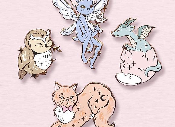 Pin's - Magic Animals