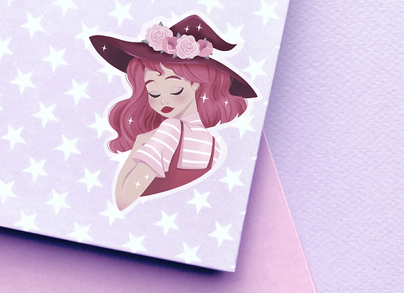 Sticker - Red Witch