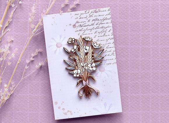 Pin's - Bouquet de fleurs