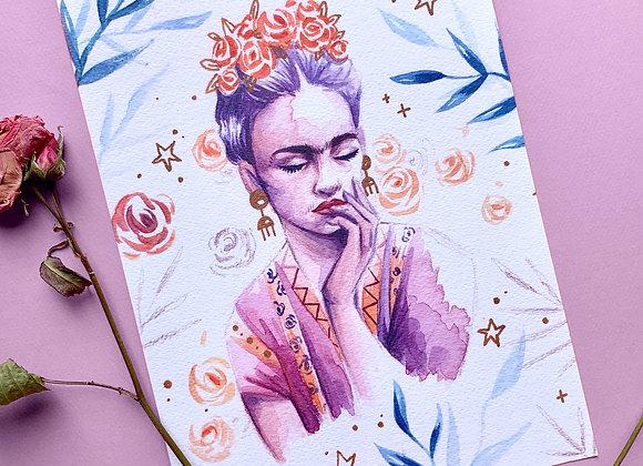 Print A4 - Frida Kahlo