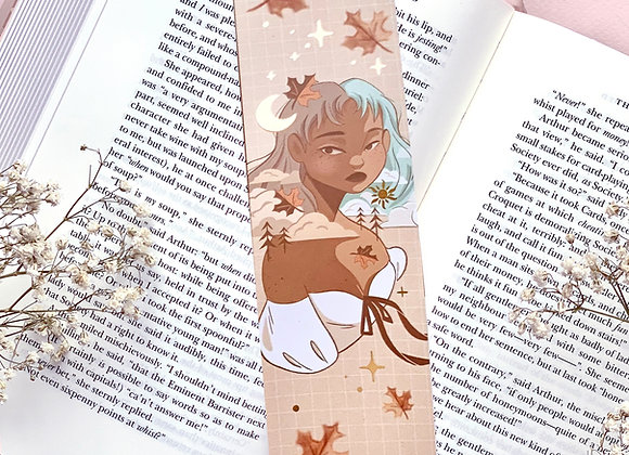 Bookmark - Moon & Sun