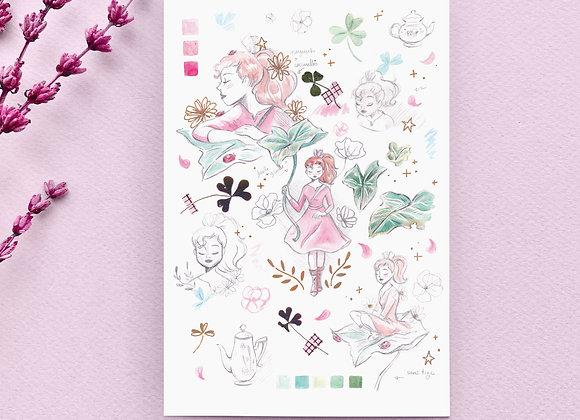 Carte postale - Arrietty