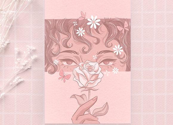 Carte postale - Flower eyes