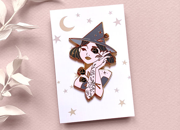 Pin - Black Witch