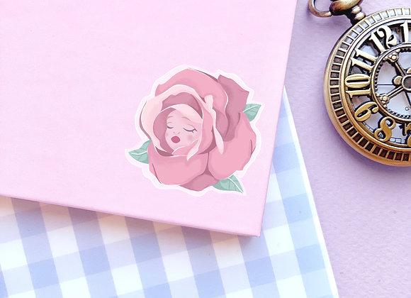 Sticker - Rose rose