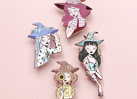 Pins set - Witches Collection