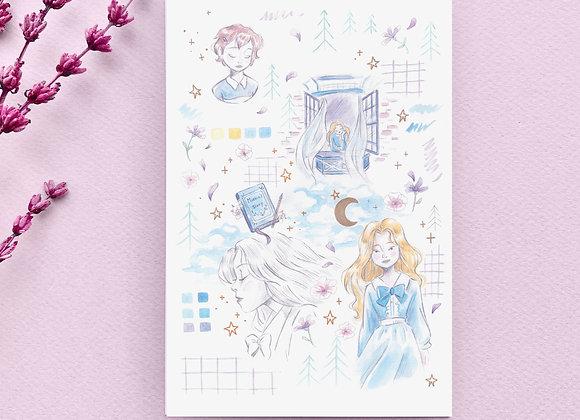 Carte postale - Marnie