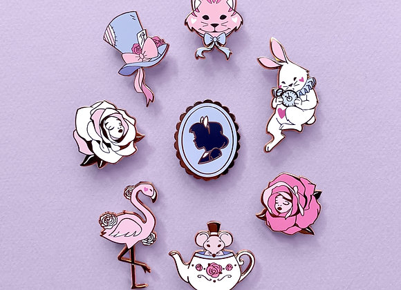 Lot complet - Pin's- Collection Alice