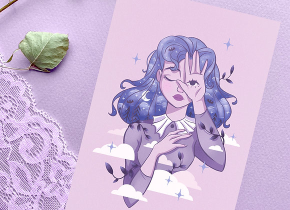Carte postale -Night Witch