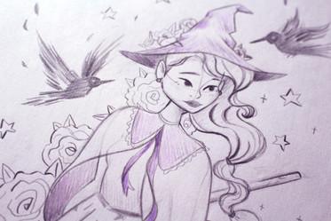 Ravenclaw witch