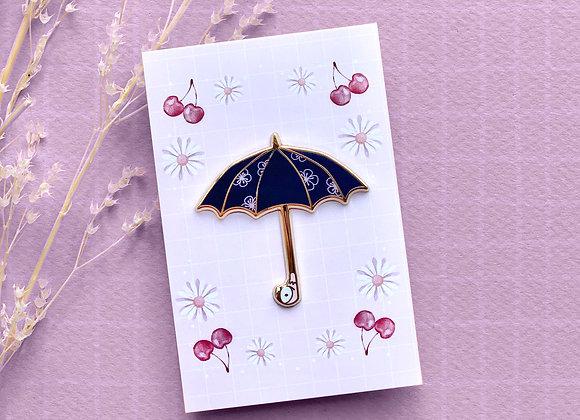 Pin's-Parapluie