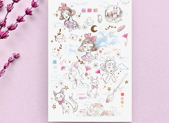 Postcard - Kiki
