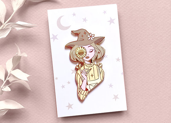 Pin - Yellow Witch
