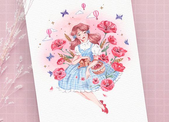 Print A4 - Dorothy