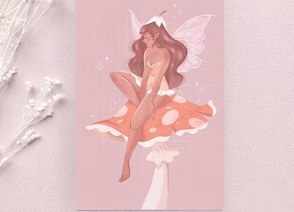 Carte postale - Fall Fairy
