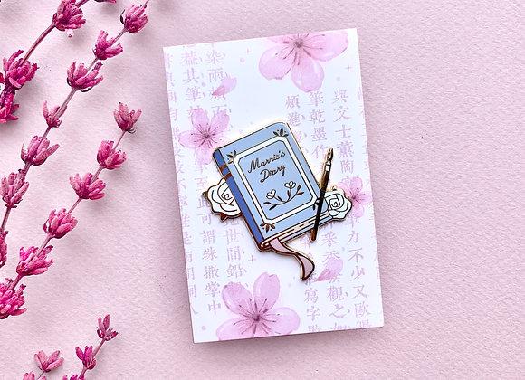 Pin's - Journal de Marnie
