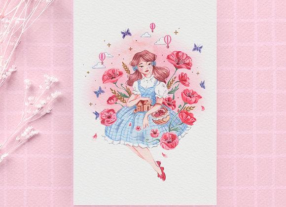 Carte postale - Dorothy