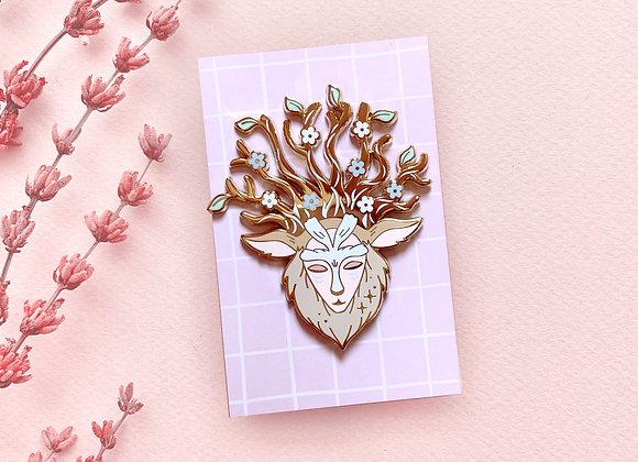 Pin - Deer God