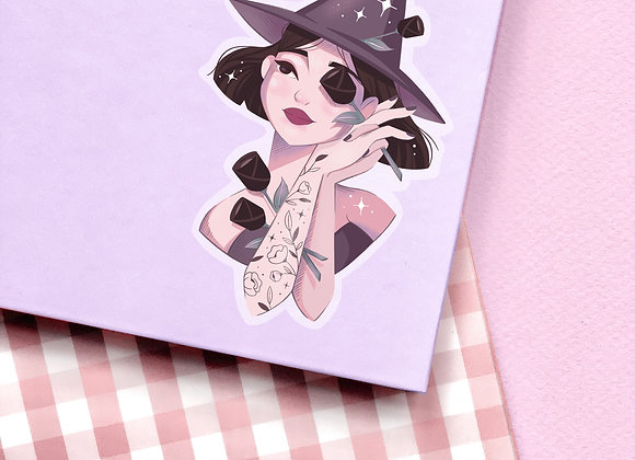 Sticker - Black Witch