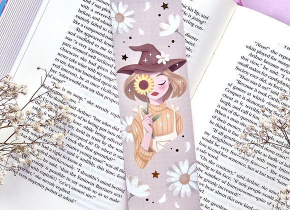 Bookmark - Yellow Witch