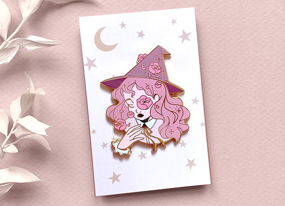 Pin - Pink Witch