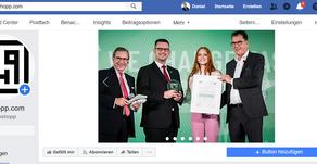 Neue Seite auf Facebook
