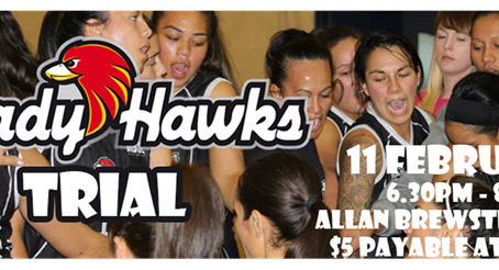 Lady Hawks Trial