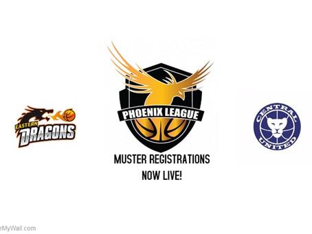Phoenix League Muster & Team Registrations Now Live!