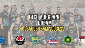 Auckland Dream - D-League Team Success