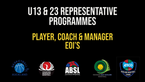 U13 and U23 Representative Programmes