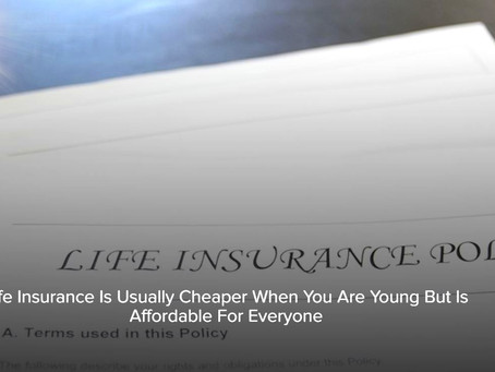 Is Life Insurance Affordable?