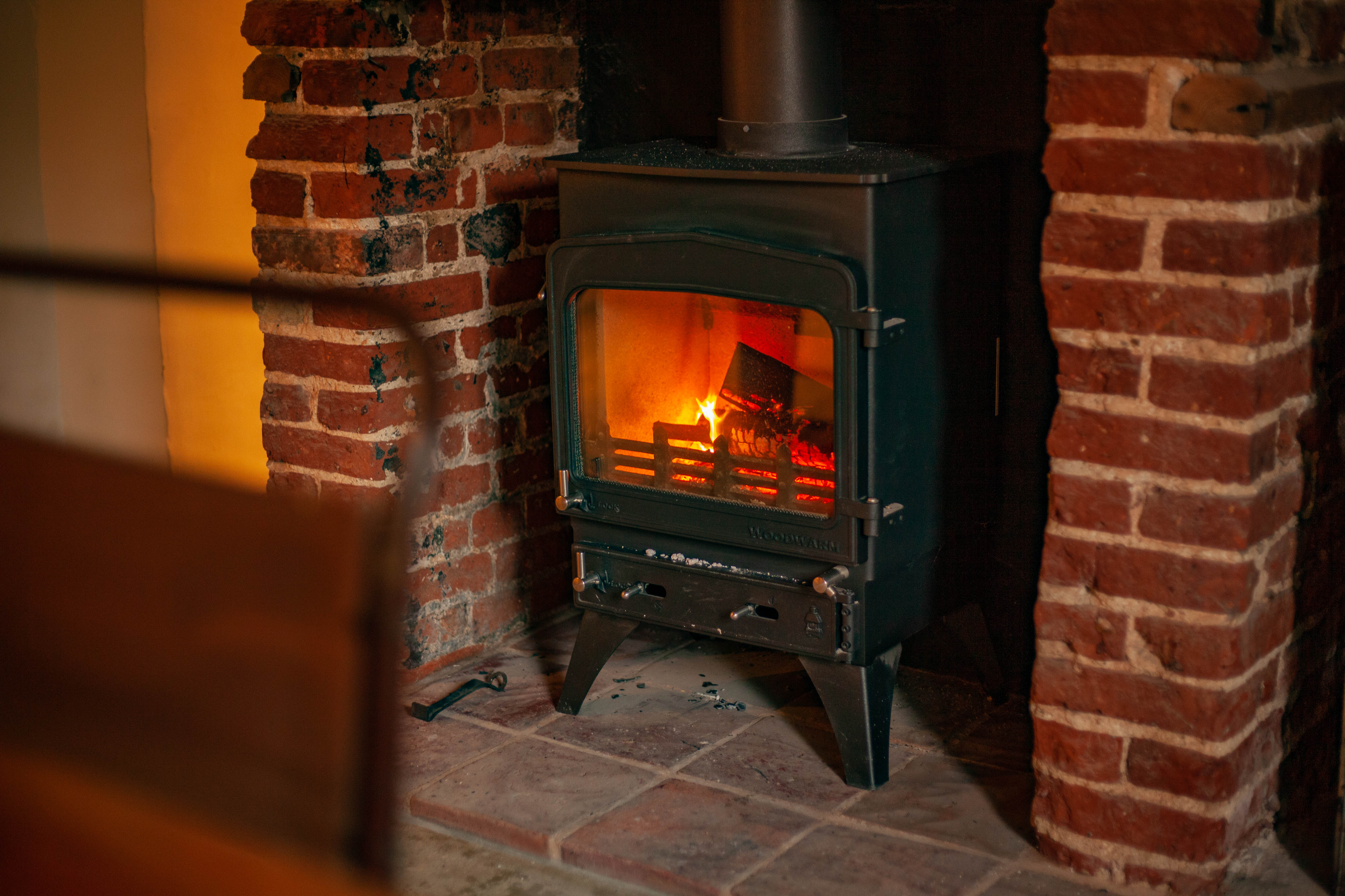 Rock Cottage Log Burner