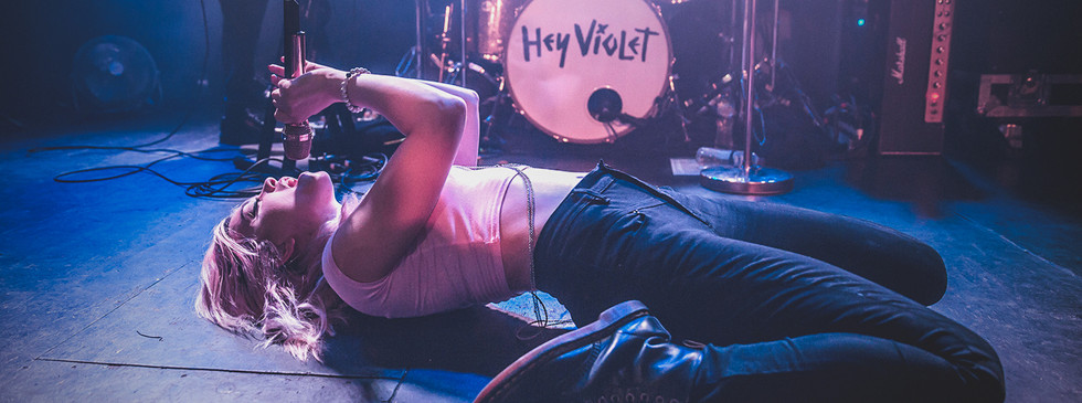 Rena Lovelis of Hey Violet