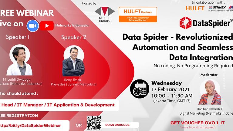 HULFT DataSpider - Revolutionized Automation and Seamless Data Integration