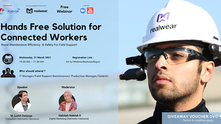Webinar : RealWear - Hand Free Solution For Connected Workers