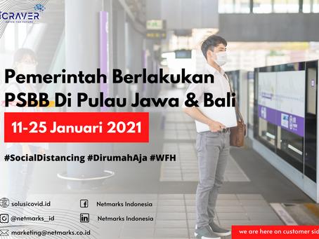 UPDATE COVID-19: Pemerintah Berlakukan PSBB Di Pulau Jawa & Bali 11-25 Januari 2021