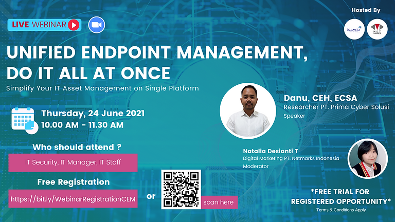 Webinar : Unified Endpoint Management, Do It All At Once