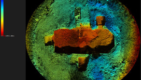 Rilievo archeologico di una chiesa interrata